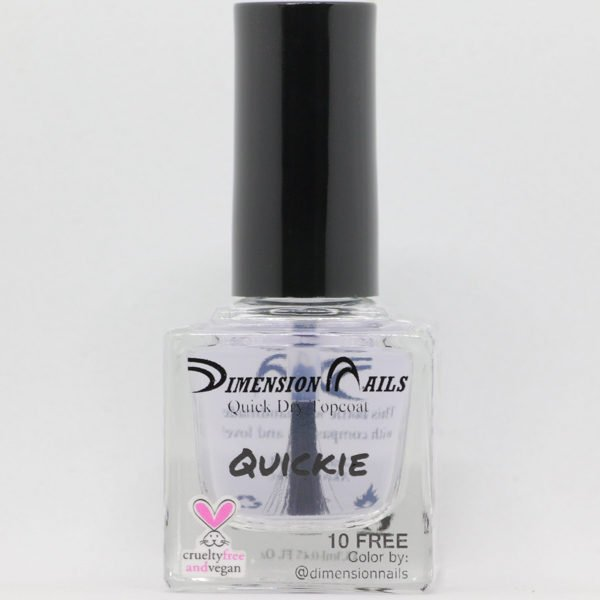 Quickie (Quick Dry Topcoat) - Dimension Nails